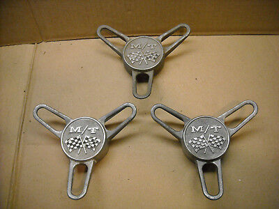 Vintage Mickey Thompson Mag Wheel Center Cap Spinners