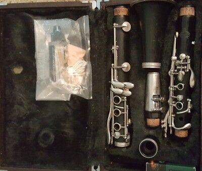 Vintage Buffet Crampon B 12 Clarinet + Mouthpiece + Case Made In Germany