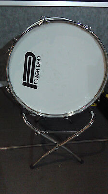 Powerbeat Marching Bass Drum with stand 26""
