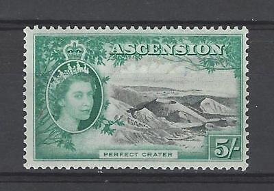 Ascension 1956 Sc#73  Perfect Crater MH $40.00 Two Scans