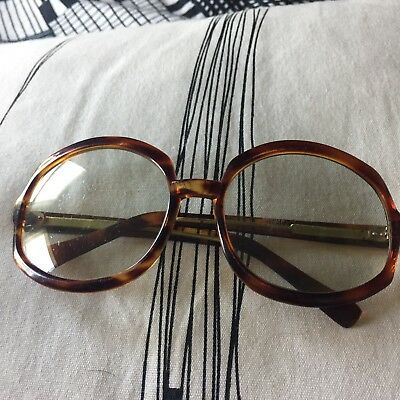 Vintage Large Sunglasses Made In Italy