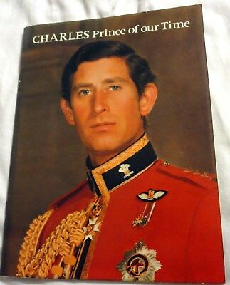 1978 Charles Prince Of Our Time Pictoral Soft Cover Booklet