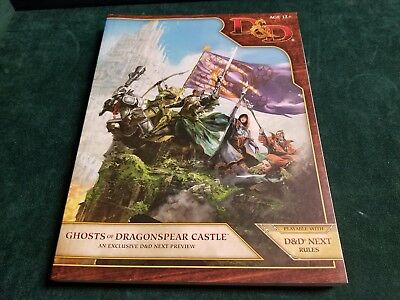 D&d Ghosts Of Dragonspear Castle New Dungeons & Dragons Wotc Gen Con Exclusive!!