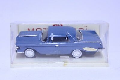 Nice Vintage Ideal Motorific Chrysler Imperial In Blue W/ Case