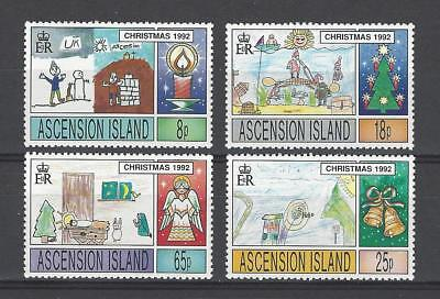 Ascension 1992 Sc#549-52  Christmas Issue  MNH Set $8.35