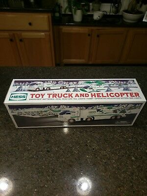 2006 Hess Toy Truck and Helicopter MINT NEW IN BOX