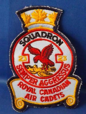 Royal Canadian Air Cadets Squadron 23 Semper Patch St Catherines Optimist