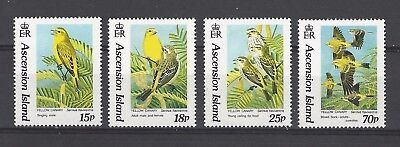 Ascension 1993 Sc#553-6  Yellow Canary  MNH Set $8.90