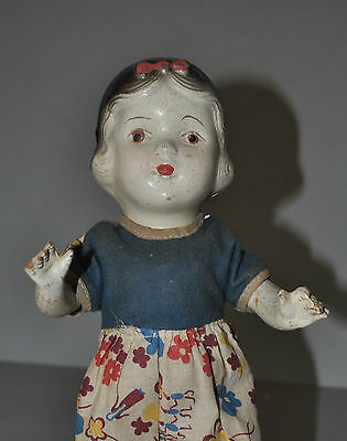 Composition Snow White Doll Vintage