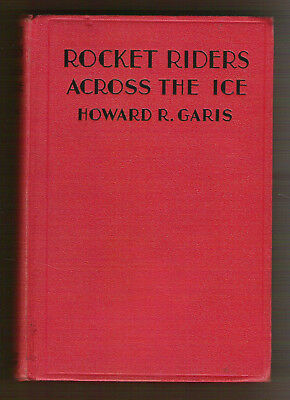 Set of 4 Rocket Riders Garis 1933 Across Ice Over Desert Stormy Seas In the Air