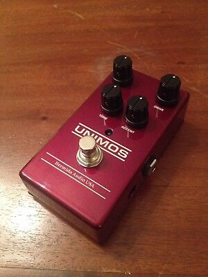 Lovepedal Hermida Unimos Ruby Overdrive Pedal (Dumble/Zendrive sounds)