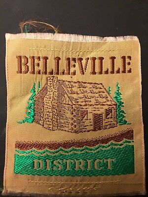 Scouts Canada Silk District (Area) Badge - Bellville