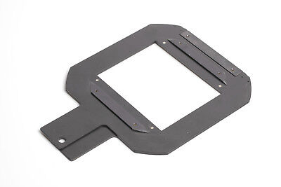 4x5 Glassless Negative Carrier for Saunders, LPL, Omega enlargers D4, D5, D6