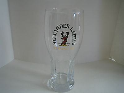 Alexander Keith's India Pale Ale Pint Glass