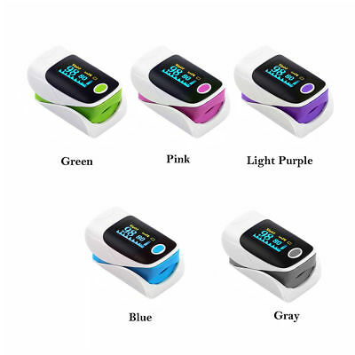 Newest US Finger Fingertip Blood Oxygen Meter SPO2 OLED Pulse Heart Rate Monitor