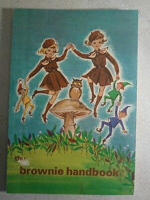 Vintage 1965 Brownie Handbook - Girl Guides Of Canada - Scouting