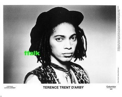 Press Photo: TERENCE TRENT D'ARBY 8x10 B&W 1993