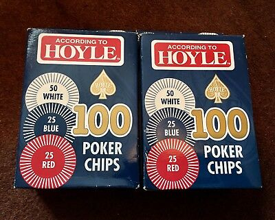 According To Hoyle 200 Poker Chips