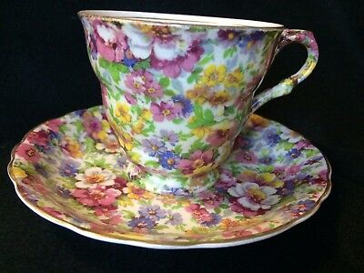 Pretty James Kent Cup And Saucer