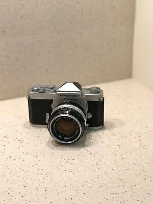 Nikon Japan Nikkormat FT 3170697 w/Leather Case