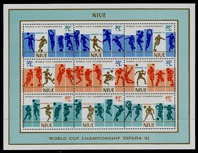 Niue B51 MNH Sports, World Cup Soccer, Football