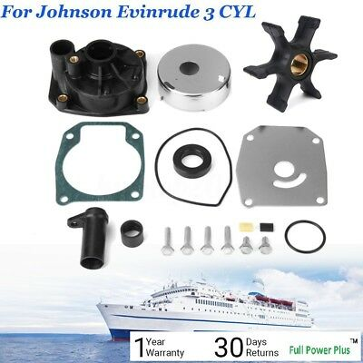 Johnson Evinrude 60 65 70 75 HP Water Pump Impeller Kit 438597 432955 18-3389
