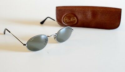Vintage Ray-Ban Bausch & Lomb Oval Aviator Sunglasses - Gen Metal Grey - Ray Ban