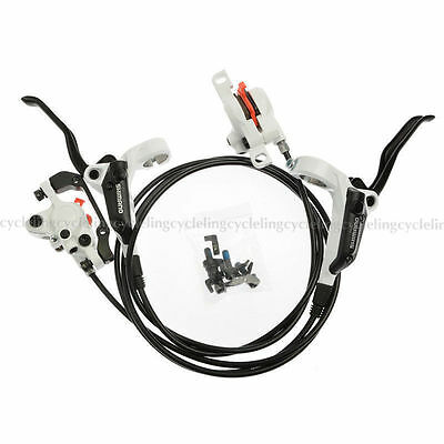 SHIMANO BR-BL-M355 MTB Hydraulic Disc Brake Set Front and Rear White