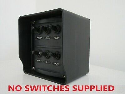 Boat switch panel mounting enclosure box. Made in Australia