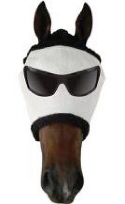 NEW Funny Faced Horse/Pony Fly Mask Fly Veil UV & Insect Protection - Mr.COOL