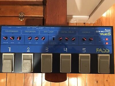 Ibanez PUE5 Multi Effects Unit - Vintage 1989