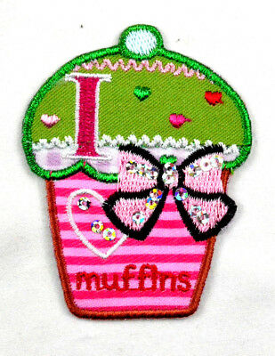 iron-on patch appliqué 12-836 Muffin