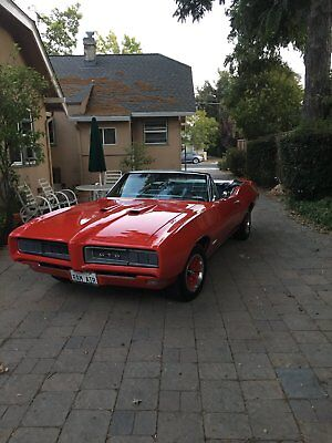 1968 Pontiac GTO convertible 1968 Pontiac GTO convertible Ram Air Tribute and Pro Touring