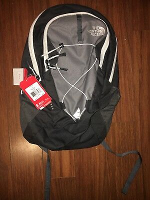 The North Face Women's Jester Backpack in Zinc Grey/White