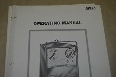 Lincoln Operating Manual - Jetwelder 350 - Im510
