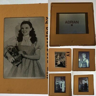 Vintage 80+ 35mm slides of Golden Age Actresses for Adrian & Milo Anderson Show