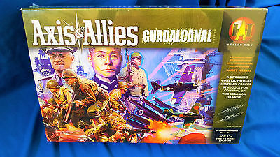 Axis & allies guadalcanal board game, new sealed.