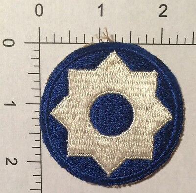 US Army WW2 8th Service Command Patch