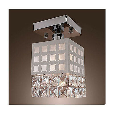 * 60W Height 20CM Crystal Cubic Lampshade Decoration Light Ceiling Lighting