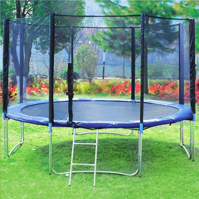 8 - 14 FT Replacement Trampoline Safety Net Enclosure Surround 1 Year Warranty