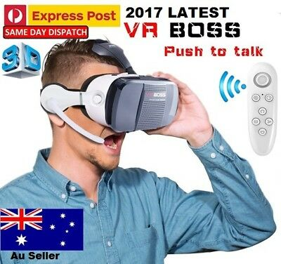 2017 VR Headset VR BOX Virtual Reality Glasse 3D for All Iphone 5S 6S 7 7+ 8