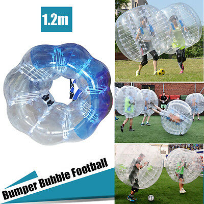1pcs Inflatable Bumper Bubble Balls Body Zorb Ball Soccer Bumper Football 1.2M