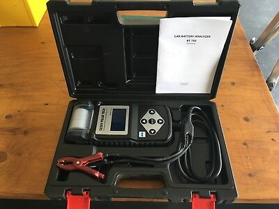 PULSE TECH Conductance Battery Tester with Printer (Model BT750) 12v and 24v