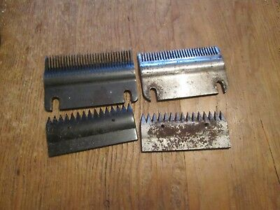 Two Sets of Heiniger Blades  (will need sharpening) .Will fit other Clippers