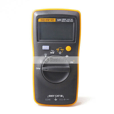 Fluke 101 Handheld and Easily Carried Digital Multimeter 600 V CAT III