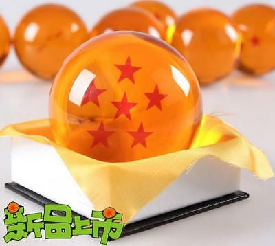 "Dragon Ball DragonBall Z Crystal Ball 6-Star Diameter 3""/7.5cm Ball New in Box"