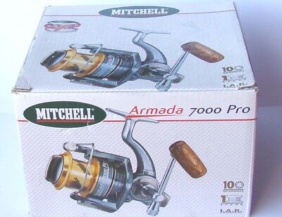 MITCHELL PRO 7000 TOP ANGEL ROLLE ALLROUND ROLLE HIGH QUALITY 10 Bearings ☆Neu☆
