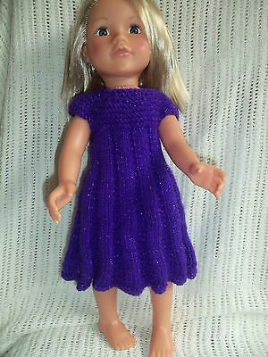 Hand Knitted Dress For  Designa Friend Type Doll