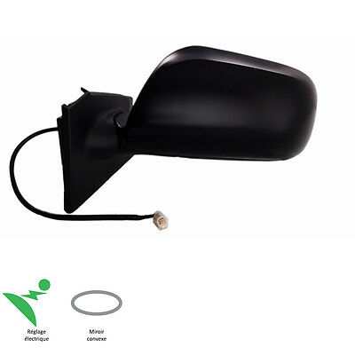 Rear View Mirror Driver Lhd Left Electric Black Toyota Yaris P9 11/2005-08/2011