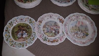 "Royal Doulton Brambley Hedge ""Special Occasion"" Plates"